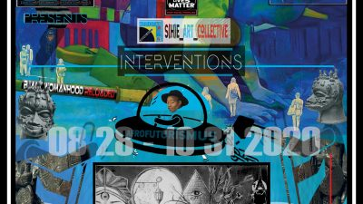 Black Berlin Biennale 4.0 Fassaden-Intervention